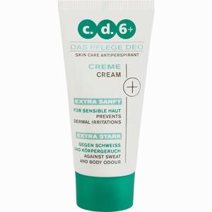 Abbildung von Cd 6 + Pflegedeo Creme  50 ml