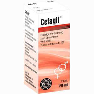 Abbildung von Cefagil Tropfen 20 ml