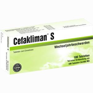 Abbildung von Cefakliman S Tabletten 500 Stück