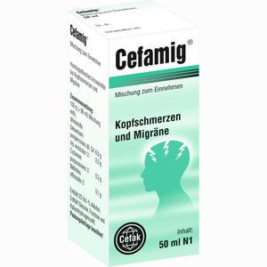 Abbildung von Cefamig Tropfen 50 ml