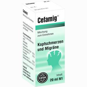 Abbildung von Cefamig Tropfen 20 ml