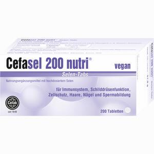 Abbildung von Cefasel 200 Nutri Selen- Tabs Tabletten 200 Stück