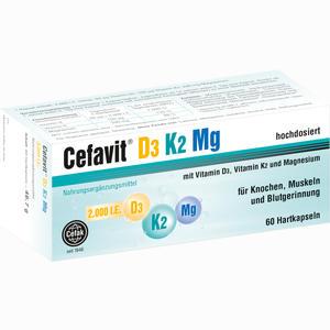 Abbildung von Cefavit D3 K2 Mg 60 Stück