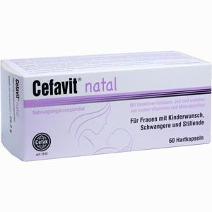 Abbildung von Cefavit Natal Hartkapseln 60 Stück