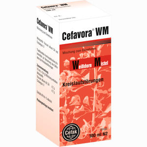 Abbildung von Cefavora Wm Tropfen 100 ml