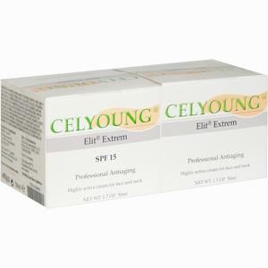 Abbildung von Celyoung Elit Extrem Creme Kombipack  2 x 50 ml