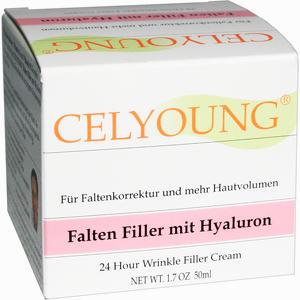 Abbildung von Celyoung Falten Filler mit Hyaluron Creme 50 ml