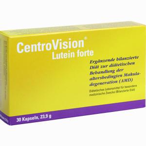 Abbildung von Centrovision Lutein Forte Omega 3 Kapseln 30 Stück