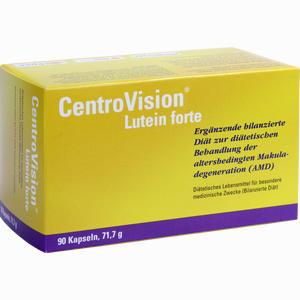 Abbildung von Centrovision Lutein Forte Omega3 Kapseln 90 Stück