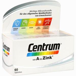Abbildung von Centrum A Bis Zink Tabletten 60 Stück