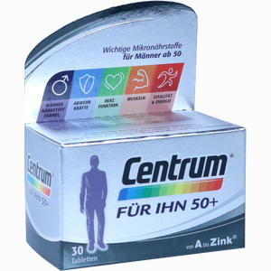 Abbildung von Centrum für Ihn 50+ Capletten 30 Stück