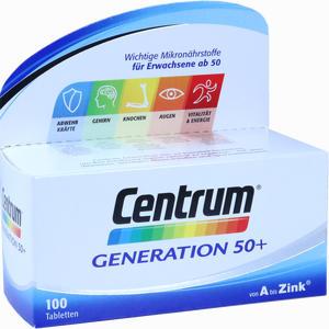 Abbildung von Centrum Generation 50+ A- Zink + Floraglo Lutein Tabletten 100 Stück