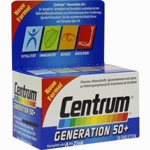 Abbildung von Centrum Generation 50+ +lutein Tabletten 30 Stück