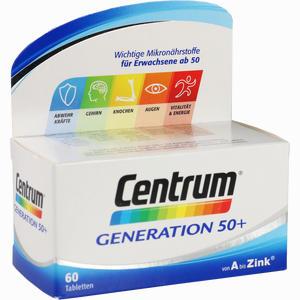 Abbildung von Centrum Generation 50+ Tabletten 60 Stück