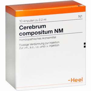 Abbildung von Cerebrum Compositum Nm Ampullen 10 Stück