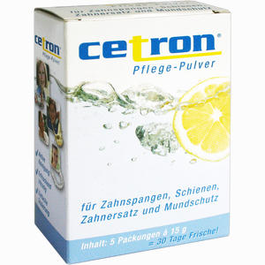 Abbildung von Cetron Reinigungspulver  5 x 15 g