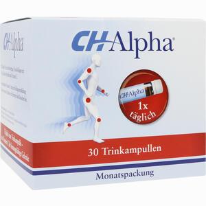 Abbildung von Ch- Alpha Trinkampullen 30 Stück