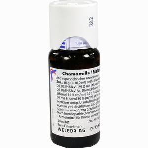 Abbildung von Chamomilla Malachit Comp Dilution 50 ml