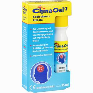 Abbildung von China- Oel Kopfschmerz Roll- On Aetherisches Öl 15 ml