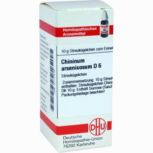 Abbildung von Chininum Arsen D6 Globuli 10 g