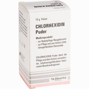 Abbildung von Chlorhexidin Puder  15 g