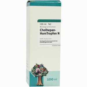 Abbildung von Cholhepan- Homtropfen N  100 ml