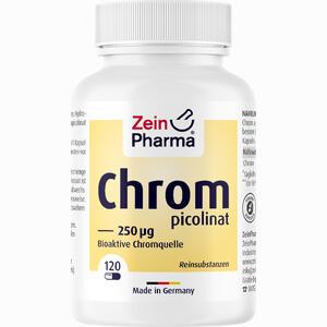 Abbildung von Chrompicolinat 250 µg in Vegetarischen Kapseln 120 Stück