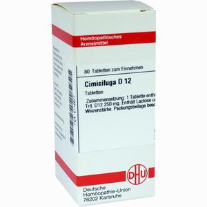 Abbildung von Cimicifuga D12 Tabletten 80 Stück