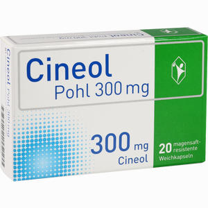 Abbildung von Cineol Pohl 300 Mg Magensaftresistente Weichkapseln 20 Stück