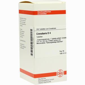 Abbildung von Cinnabaris D4 Tabletten 200 Stück