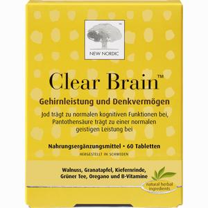 Abbildung von Clear Brain Tabletten 60 Stück