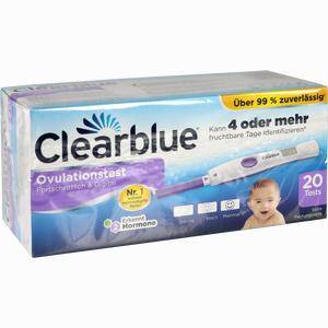 Abbildung von Clearblue Ovulationstest Fortschrittlich & Digital 20 Stück