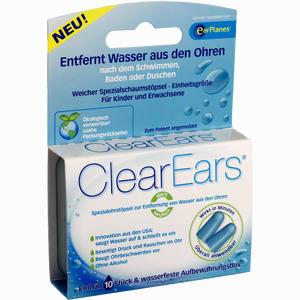 Abbildung von Clearears Ohrstöpsel zur Wasserentfernung 10 Stück