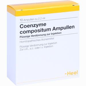 Abbildung von Coenzyme Comp Ampullen 10 Stück