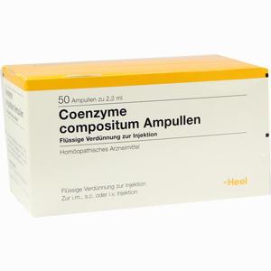 Abbildung von Coenzyme Comp Ampullen 50 Stück