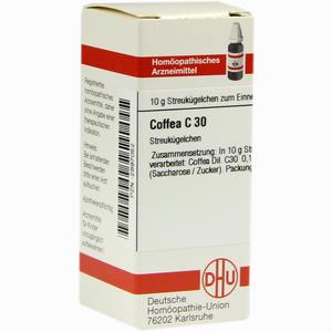 Abbildung von Coffea C30 Globuli 10 g