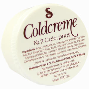 Abbildung von Coldcreme Nr. 2 Calc. Phos.  150 ml