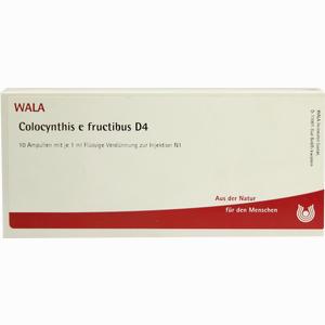 Abbildung von Colocynthis E Fruct D4 Ampullen 10 x 1 ml