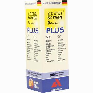 Abbildung von Combi- Screen 9+leuko Plus Teststreifen 100 Stück