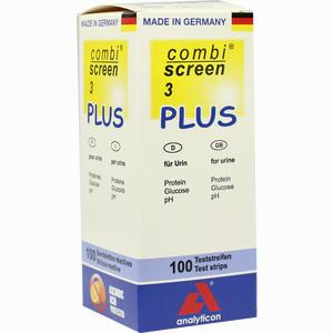 Abbildung von Combiscreen 3 Plus Teststreifen 100 Stück