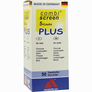 Abbildung von Combiscreen 5+leuko Plus Teststreifen 50 Stück