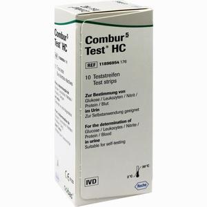 Abbildung von Combur 5- Test Hc Teststreifen 10 Stück