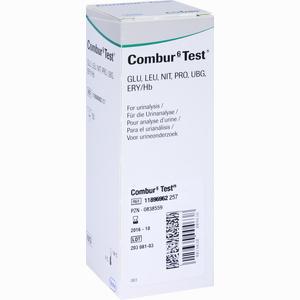 Abbildung von Combur 6- Test Teststreifen 50 Stück