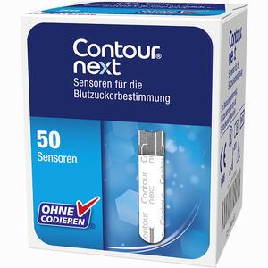 Abbildung von Contour Next Sensoren Teststreifen Bayer vital 50 Stück