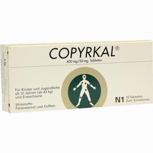 Abbildung von Copyrkal Tabletten 10 Stück