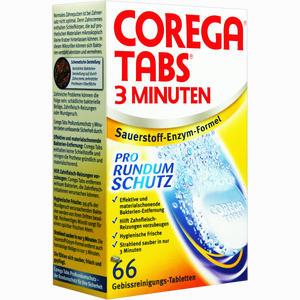 Abbildung von Corega Tabs 3 Minuten Tabletten 66 Stück