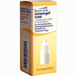 Abbildung von Corneregel Fluid Augentropfen  10 ml