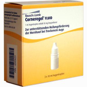 Abbildung von Corneregel Fluid Augentropfen  3 x 10 ml