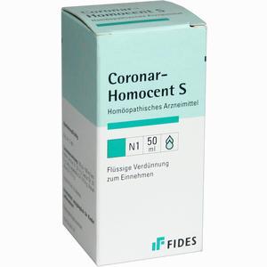 Abbildung von Coronar Homocent S Tropfen 50 ml
