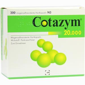 Abbildung von Cotazym 20.000 Kapseln  200 Stück